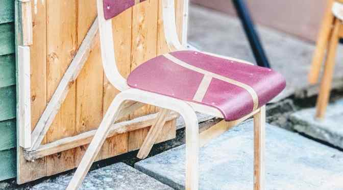 Upcycled Old School Chairs